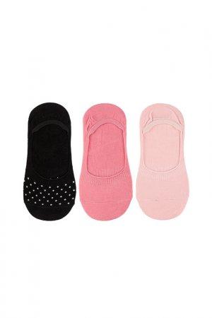 Носки (3 пары) для девочек 5.10.15.. Цвет: розовый