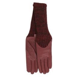 Перчатки CECILIA/A бордовый AGNELLE
