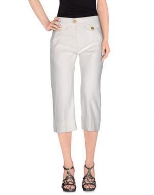 Джинсовые брюки-капри ISABEL MARANT ÉTOILE. Цвет: белый