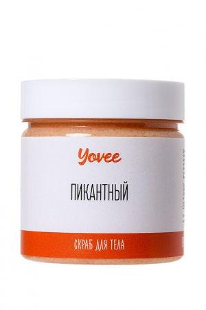 Скраб шоколад-апельсин Yovee by Toyfa. Цвет: прозрачный