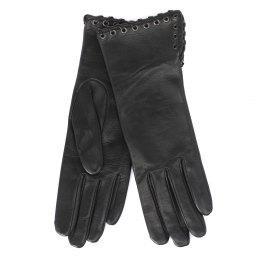 Перчатки FANNYEYELET черный AGNELLE