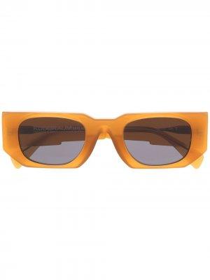 Солнцезащитные очки U8 в прямоугольной оправе Kuboraum. Цвет: нейтральные цвета