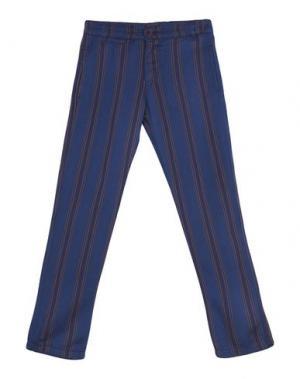 Повседневные брюки MAAN. Цвет: темно-синий