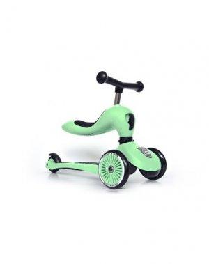 Самокаты и скейтборды SCOOT & RIDE. Цвет: зеленый