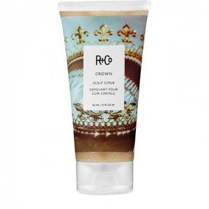 Скраб для кожи головы Crown R+Co. Цвет: бесцветный