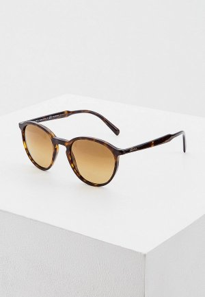 Очки солнцезащитные Prada 0PR 05XS 2AU732. Цвет: коричневый