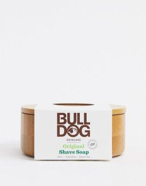 Мыло для бритья и бамбуковая баночка 100 г -Бесцветный Bulldog