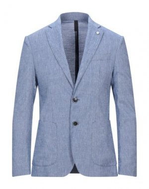 Пиджак DOMENICO TAGLIENTE. Цвет: синий