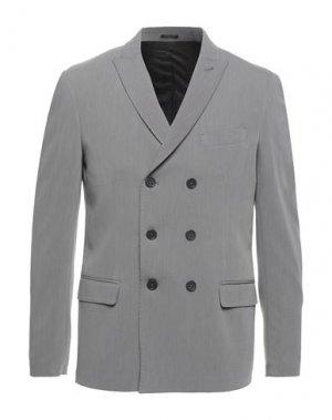 Пиджак GAZZARRINI. Цвет: серый