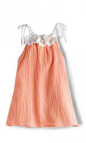 Платье-майка willa jean For Love & Lemons. Цвет: оранжевый