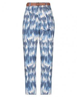 Повседневные брюки DIXIE. Цвет: синий