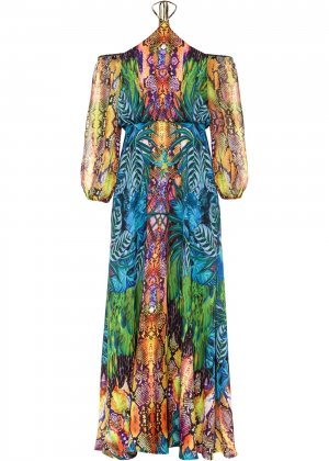 Платье bonprix. Цвет: синий
