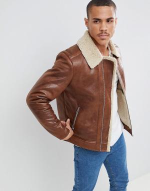 eee44846c789 Мужские куртки из искусственной кожи купить в интернет-магазине ...