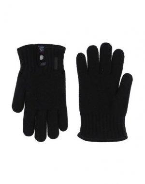 Перчатки PAUL & SHARK. Цвет: черный