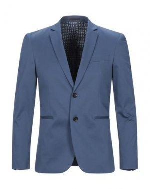 Пиджак PS PAUL SMITH. Цвет: грифельно-синий