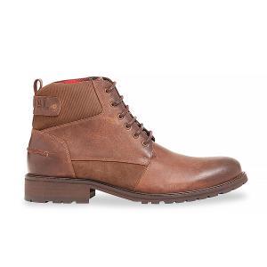 Ботинки кожаные LIEDA KAPORAL. Цвет: каштан