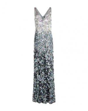 Длинное платье JENNY PACKHAM. Цвет: светло-серый