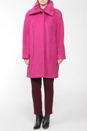 Пальто LANITA. Цвет: бордовый