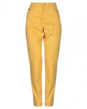 Повседневные брюки FUEGO WOMAN. Цвет: охра