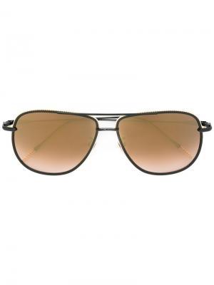 Солнцезащитные очки Magnificient Frency & Mercury. Цвет: черный