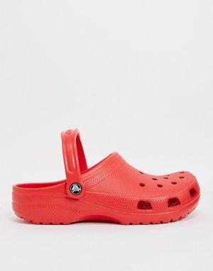 Красные сандалии -Красный Crocs