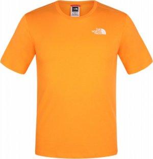 Футболка женская , размер 46-48 The North Face. Цвет: оранжевый