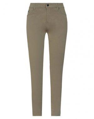 Повседневные брюки GAS. Цвет: зеленый-милитари