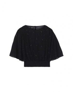 Блузка AKRIS. Цвет: черный