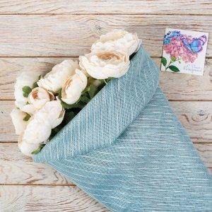 Набор лён флористический с открытками 4 шт. Дарите Счастье