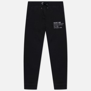 Мужские брюки Finest Emblem Helmut Lang. Цвет: чёрный
