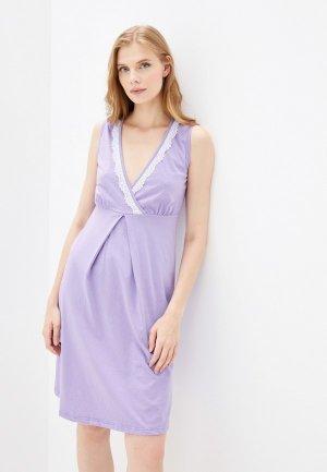Сорочка ночная Fest. Цвет: фиолетовый