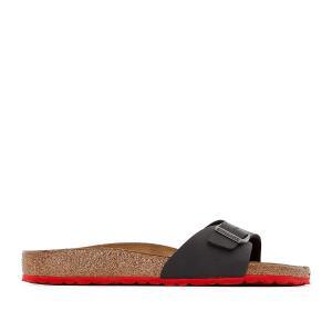Туфли без задника MADRID BIRKENSTOCK. Цвет: черный/ красный