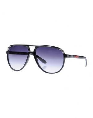 Солнечные очки PLEIN SPORT. Цвет: черный