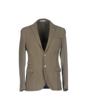Пиджак MANUEL RITZ WHITE. Цвет: зеленый-милитари