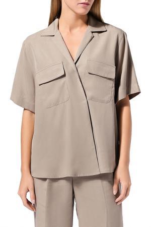 Блуза BELUCCI. Цвет: бежевый