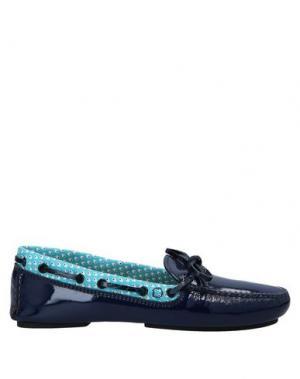 Мокасины ARFANGO. Цвет: темно-синий
