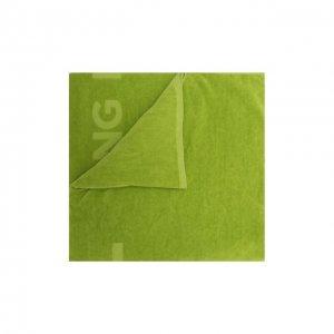 Хлопковое полотенце Tom Ford. Цвет: зелёный