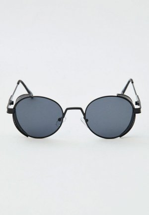 Очки солнцезащитные Pull&Bear. Цвет: черный