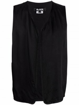 Жилет с вышитым логотипом Black Comme Des Garçons. Цвет: черный