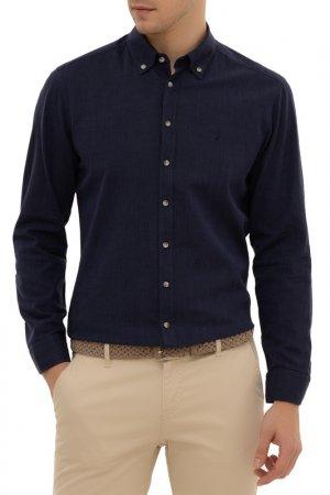 Рубашка Cacharel. Цвет: vr033 темно-синий