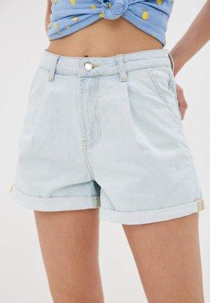 Шорты джинсовые Colins Colin's. Цвет: голубой