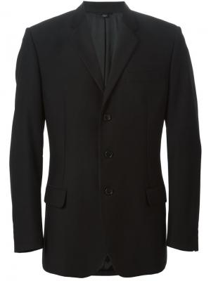 Классический пиджак Helmut Lang Vintage. Цвет: чёрный