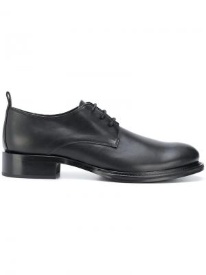 Оксфорды на шнуровке Ann Demeulemeester. Цвет: черный