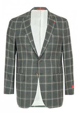 Пиджак ISAIA. Цвет: серый