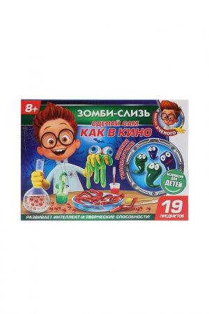Игрушка опыты: зомби слизь Играем вместе. Цвет: зеленый