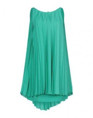 Короткое платье GIO' GUERRERI. Цвет: изумрудно-зеленый