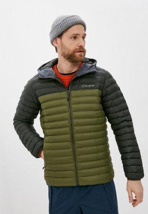Куртка утепленная Berghaus VASKYE SYN IN JKT. Цвет: хаки