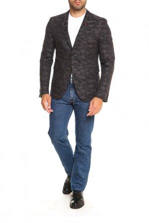 Пиджак Cinque. Цвет: черный, серый, камуфляж