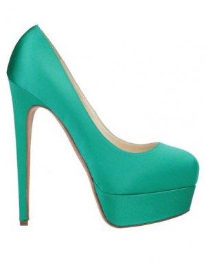 Туфли BRIAN ATWOOD. Цвет: изумрудно-зеленый