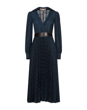 Платье длиной 3/4 BABYLON. Цвет: синий